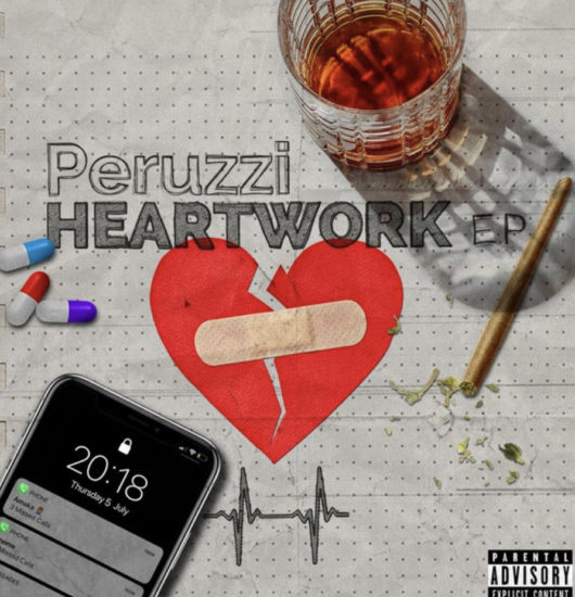 perruzi heatwork ep artwork
