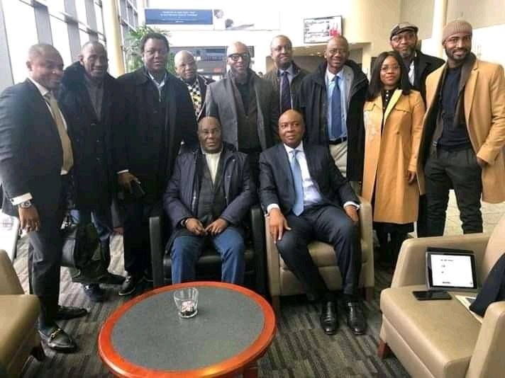 Atiku Abubakar in the US