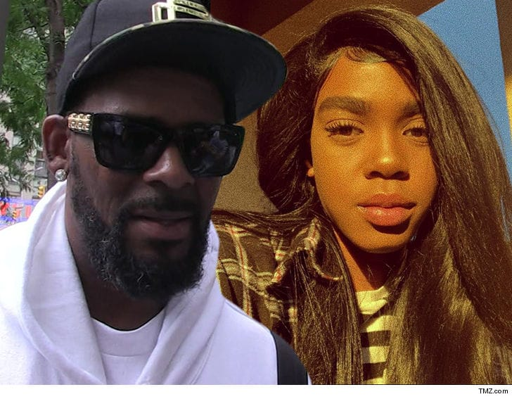 R kelly and Daughter